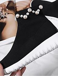 Mujer Semicuero Nieve Botas De Invierno Plataforma Zapatos q8xr6qwS