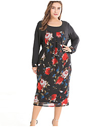 cheap -women's going out a line dress midi