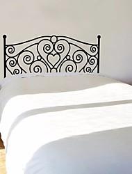 Недорогие -Декоративные наклейки на стены - 3D наклейки Геометрия / Цветочные мотивы / ботанический Гостиная / Спальня
