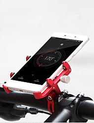 Недорогие -Крепление для телефона на велосипед Компактность, Простота установки, Анти-шоковая защита Велосипедный спорт / Велоспорт Алюминиевый сплав Синий / Розовый / Черный / красный