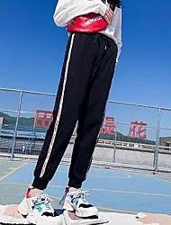 abordables -Mujer Básico Pantalones de Deporte Pantalones - Un Color