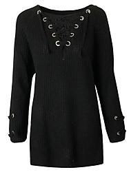 baratos -Mulheres Para Noite Tricô Vestido Mini
