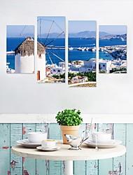Недорогие -Декоративные наклейки на стены - Простые наклейки / 3D наклейки Пейзаж / Море Гостиная / Кабинет / Офис