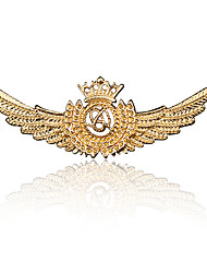 abordables -Homme Zircon Le style rétro / Stylé Broche - Imitation Diamant Médaille Large, Rétro, Mode Broche Bijoux Or / Argent / Bronze Pour Quotidien / Vacances
