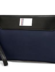 baratos -Homens Bolsas Tecido Oxford Bolsa de Mão Ziper Azul / Preto
