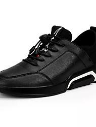 cheap -Men's PU(Polyurethane) Spring Light Soles Athletic Shoes Walking Shoes Color Block White / Black / Black / White