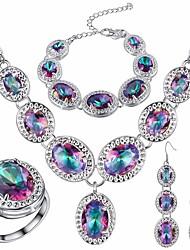 Sett med smykker i sterlings...