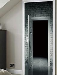 Недорогие -Декоративные наклейки на стены - 3D наклейки Фото Спальня