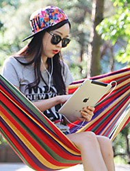 baratos -Rede de Acampamento Ao ar livre Portátil, Dobrável, Compressão Poliéster, Tela de pintura para Equitação / Campismo / Exterior - 1 Pessoa