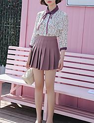 cheap -women's shirt - floral shirt collar
