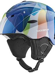 billiga Sport och friluftsliv-ROCKBROS Skidhjälm Alla Snowboardåkning / Skidor Justerbar passform / Säkerhet / Hållbar EPS+EPU CE