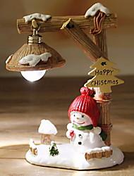 baratos -Enfeites de Natal Férias / Desenho Plástico Quadrada Novidades Decoração de Natal