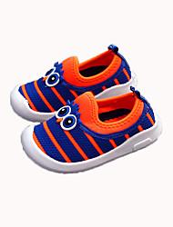 cheap -Girls' Shoes Mesh Fall & Winter Comfort Flats Walking Shoes for Kids Black / Fuchsia / Blue