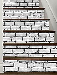 Недорогие -Напольные наклейки - Простые наклейки Геометрия Гостиная / Спальня
