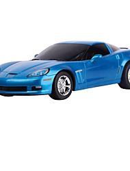 baratos -Carro com CR Rastar 53200-8 4CH 27MHz Carro 1:18 8 km/h KM / H Controle Remoto / Luminoso