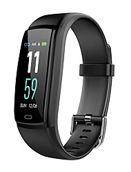 cheap -Smart Bracelet Smartwatch JSBP-Y9 for Android iOS Bluetooth Sports Waterproof Heart Rate Monitor Blood Pressure Measurement Touch Screen Timer Pedometer Call Reminder Activity Tracker / Sleep Tracker