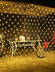 billiga -1.5m Flexibla LED-ljusslingor 500 lysdioder EL Vit / Röd / Gul Vattentät / Kreativ / Dekorativ 220-240 V 1set