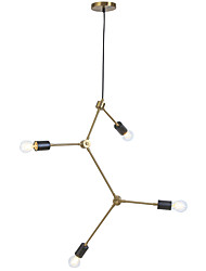 abordables -Ecolight™ 4-luz Sputnik / Novedades Lámparas Araña Luz Ambiente - Nuevo diseño, Creativo, Ajustable, 110-120V / 220-240V Bombilla no incluida