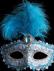 abordables -Décorations de vacances Décorations d'Halloween Masques d'Halloween Décorative / Cool Bleu 1pc