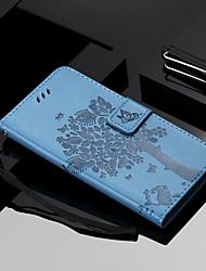 abordables -Coque Pour Xiaomi Mi 7 / Mi 8 Portefeuille / Porte Carte / Avec Support Coque Intégrale Chat / Arbre Dur faux cuir pour Redmi Note 5A / Xiaomi Redmi Note 4X / Xiaomi Redmi Note 3 / Xiaomi Mi 6