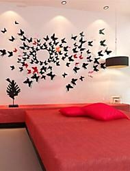 Недорогие -Декоративные наклейки на стены - Наклейки для животных Животные В помещении
