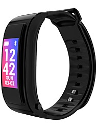 baratos -Pulseira inteligente YY-IY3 para Android iOS Bluetooth Esportivo Impermeável Monitor de Batimento Cardíaco Tela de toque Calorias Queimadas Cronómetro Podômetro Aviso de Chamada Monitor de Atividade