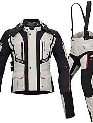 baratos -MOTOBOY Roupa da motocicleta Conjunto de calças de jaqueta para Homens Tecido Oxford / Plumagem Todas as Estações Impermeável / Resistente ao Desgaste / Proteção
