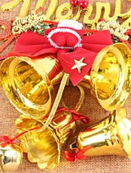baratos -Enfeites de Natal Férias Tecido / Plástico Quadrada Novidades Decoração de Natal