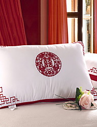 abordables -Confortable-Qualité supérieure Appui-tête Confortable Oreiller Polyester Coton