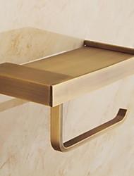Недорогие -Держатель для ёршика Новый дизайн / Cool Современный Латунь 1шт Держатели для туалетной бумаги На стену