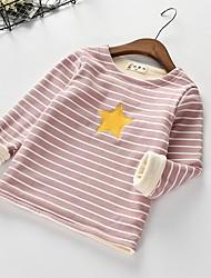 preiswerte -Kinder / Baby Mädchen Gestreift Langarm Bluse