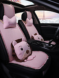 Недорогие -ODEER Чехлы на автокресла Чехлы для сидений Розовый текстильный Мультяшная тематика / Общий Назначение Универсальный Все года Все модели