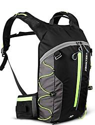 billiga Sport och friluftsliv-CoolChange 10 L Ryggsäckar - Lättvikt, Regnsäker, Bärbar Utomhus Camping, Cykel Nylon Orange, Gul, Grön