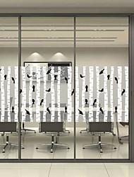 abordables -Film de fenêtre et autocollants Décoration Mat / Moderne / Halloween Personnage PVC Autocollant de Fenêtre / Mat / Salon / Salle de bain / Boutique / Café