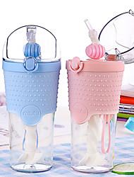 Недорогие -Drinkware Пластик Необычные чашки / стаканы / Соломинки Компактность 1 pcs