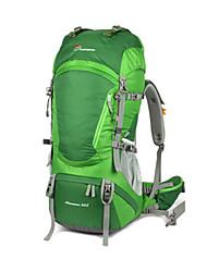 cheap -60+10 L Rucksack - Lightweight, Rain-Proof, Wearable Outdoor Hiking, Camping, Running 100g / m2 Polyester Knit Stretch Green