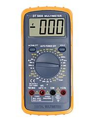 Недорогие -Портативный цифровой мультиметр dt5808 lcd для дома и автомобиля