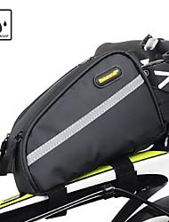 baratos -RHINOWALK Bolsa para Quadro de Bicicleta / Capas de Mochila 6 polegada Tiras Refletoras Ciclismo para iPhone 8/7/6S/6 Preto