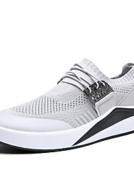 cheap -Men's Mesh Spring Comfort Athletic Shoes Walking Shoes Black / Dark Blue / Light Grey