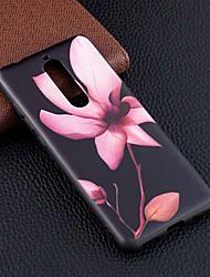 Недорогие -Кейс для Назначение Nokia Nokia 5.1 / Nokia 3.1 С узором Кейс на заднюю панель Цветы Мягкий ТПУ для Nokia 8 / Nokia 6 / Nokia 5