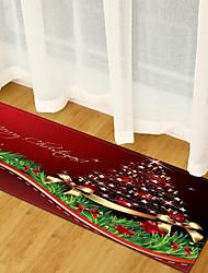 billige -Område tæpper Jul Polyester, Rektangulær Overlegen kvalitet Rug