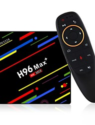 abordables -H96 Max plus Box TV / Air Mouse Android 8.1 Box TV / Air Mouse RK3328 4GB RAM 32GB ROM Huit Cœurs Cool