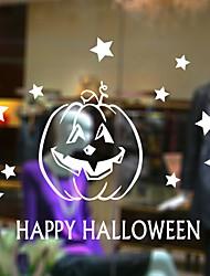 Недорогие -Оконная пленка и наклейки Украшение Фольклорный стиль / Хэллоуин Праздник ПВХ Стикер на окна