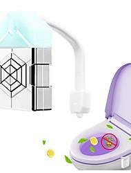 Недорогие -1pc ароматерапия тела зондирования туалет огни 16-цветной туалет УФ дезинфекции туалеты висит индукции ночной свет