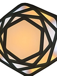 billige -CXYlight Geometrisk Takmonteret Baggrundsbelysning - Ministil, 110-120V / 220-240V LED lyskilde inkluderet