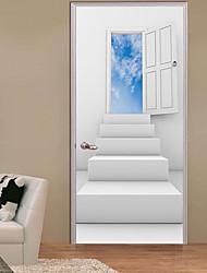 economico -Adesivi decorativi da parete - Adesivi 3D da parete Fotografia Al Coperto