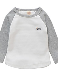 cheap -Baby Girls' Color Block Long Sleeve Tee