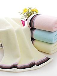 Недорогие -Высшее качество Полотенца для мытья, Однотонный Полиэстер / Хлопок Ванная комната 1 pcs