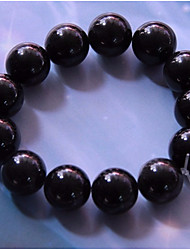 cheap -Men's Obsidian Classic / Beads Strand Bracelet - Creative Simple, Classic, Ethnic Bracelet Black For Formal / Festival