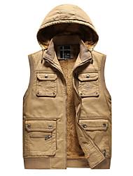 cheap -Men's Basic Vest - Solid Colored